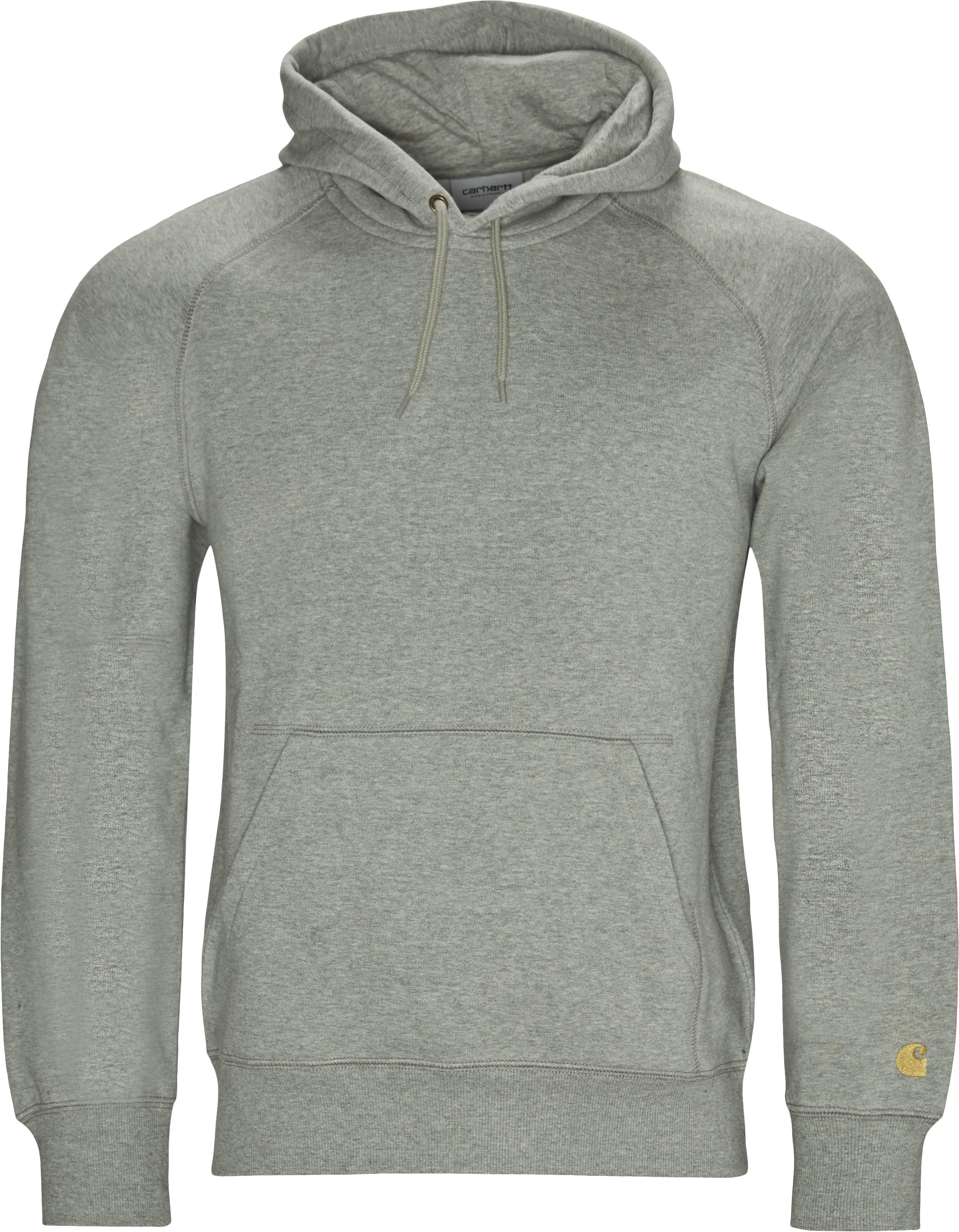 Hooded Chase Sweatshirt - Sweatshirts - Regular - Grå